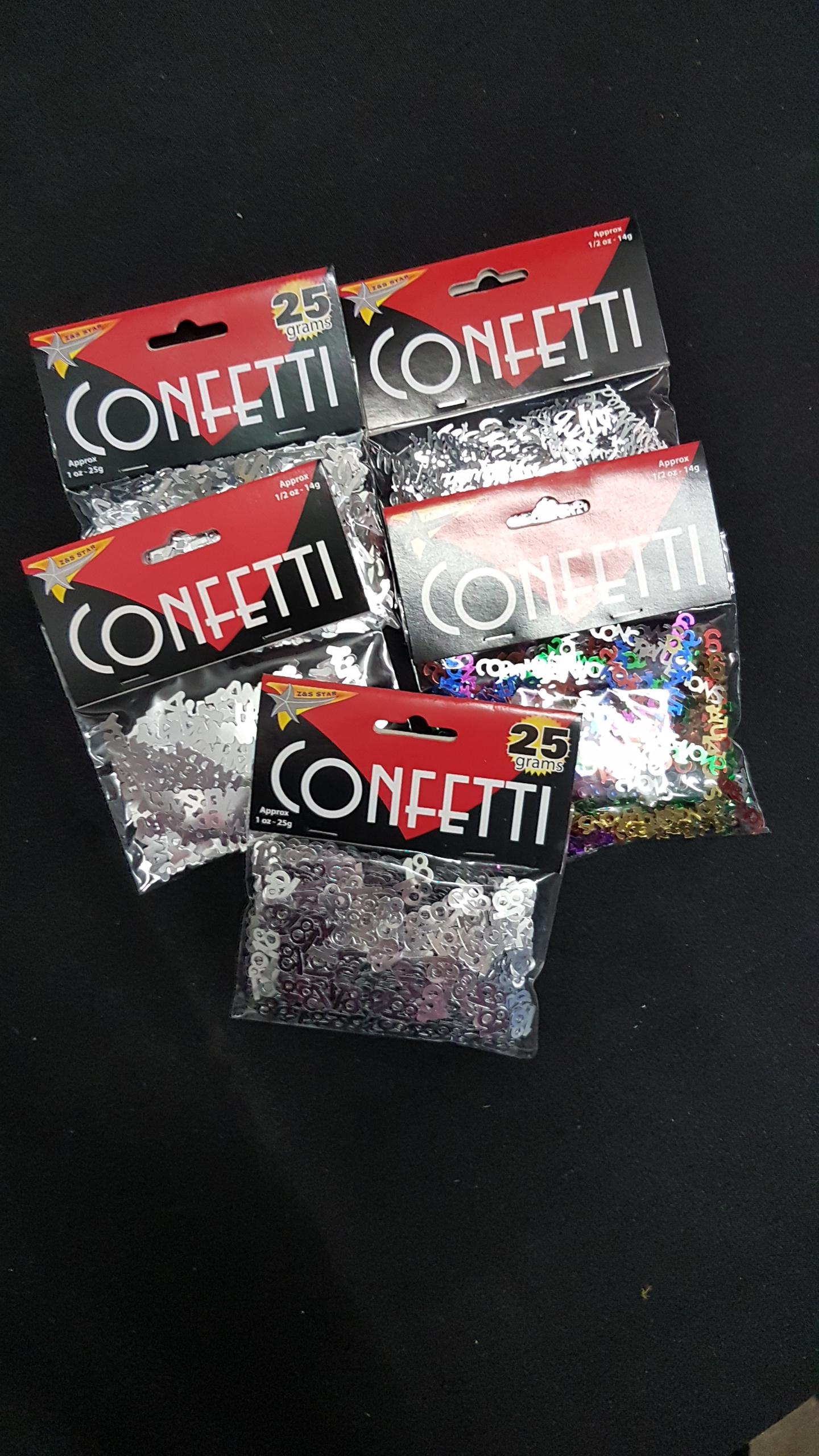 Word Confetti   $1.00ea