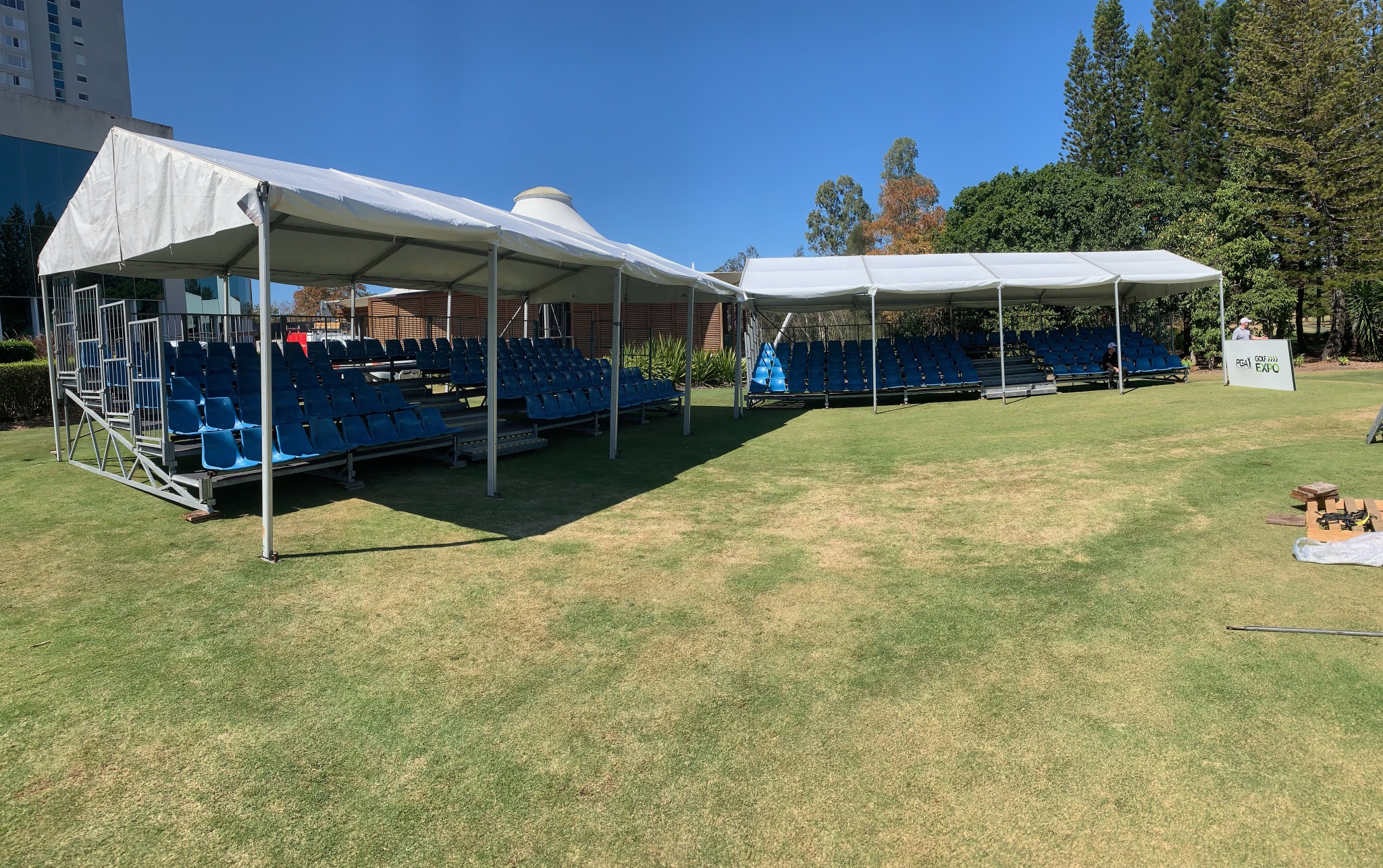 Grandstand & Marquee