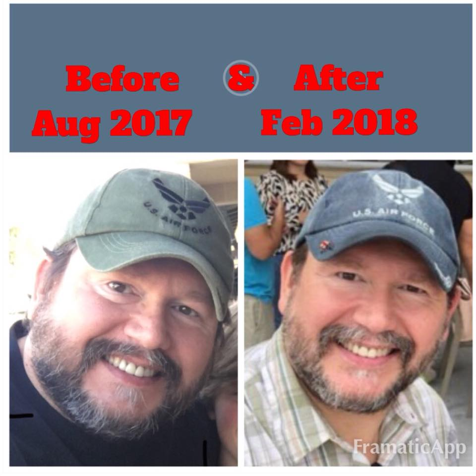 For more info on how a Disabled Veteran made such a DRASTIC change in just 7 months with ZERO exercise read below!! -