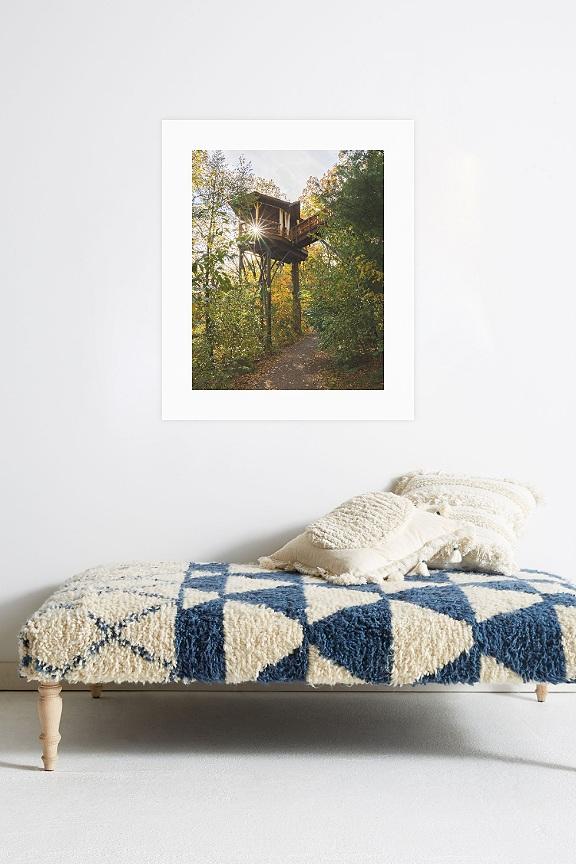 Treehouse Print