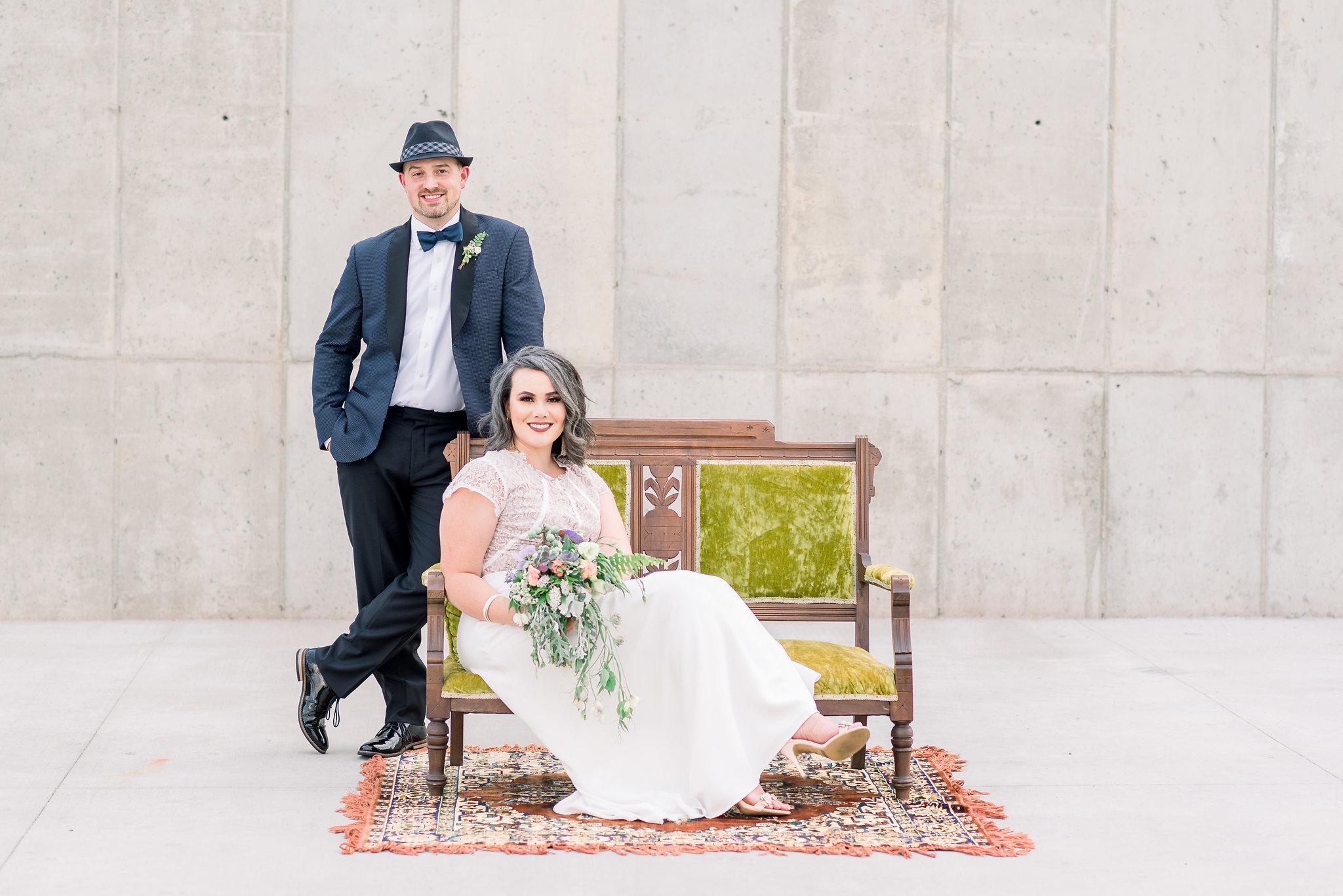 Wild Woodland Style Wedding