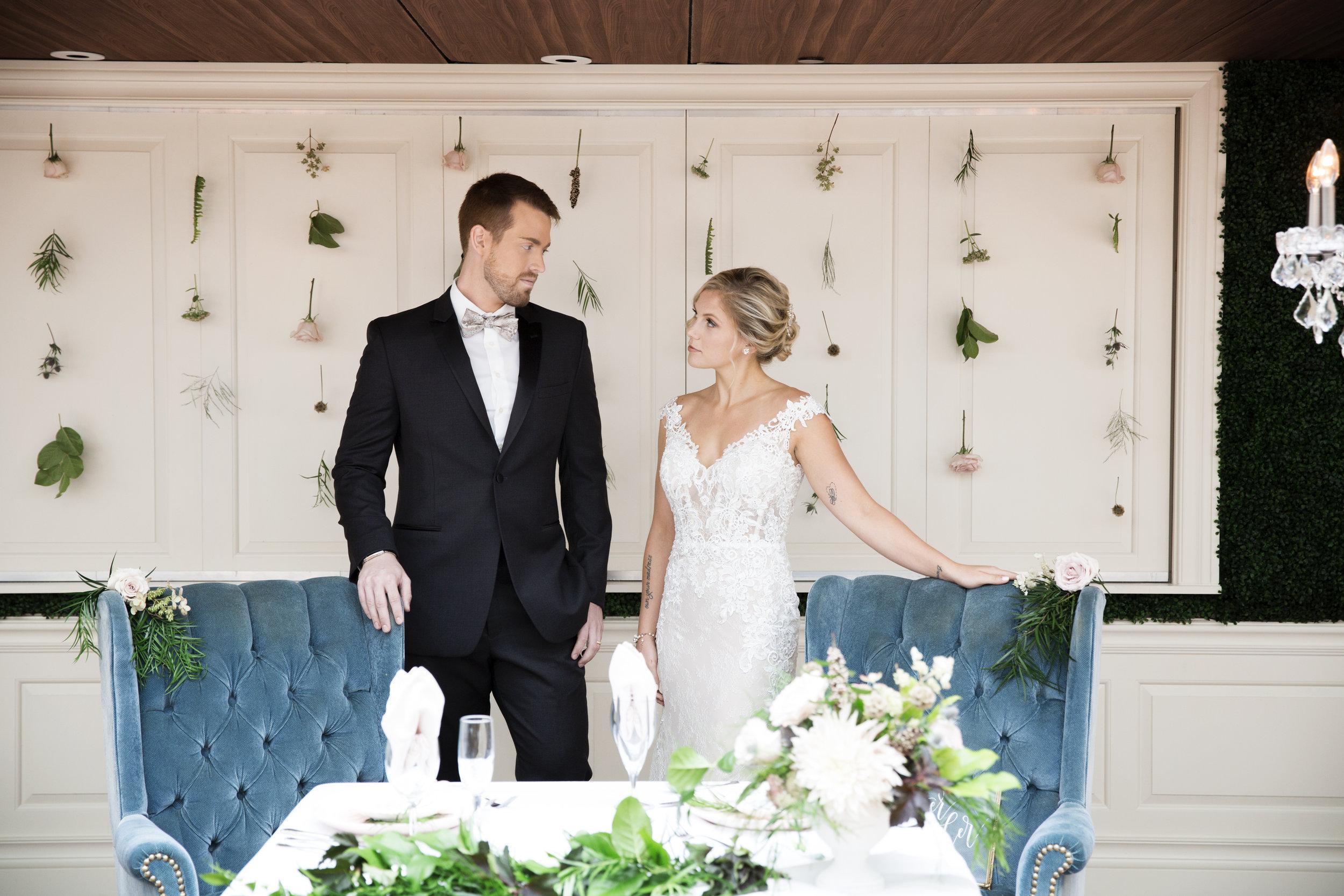 Romantic Blush + Blue Style Wedding