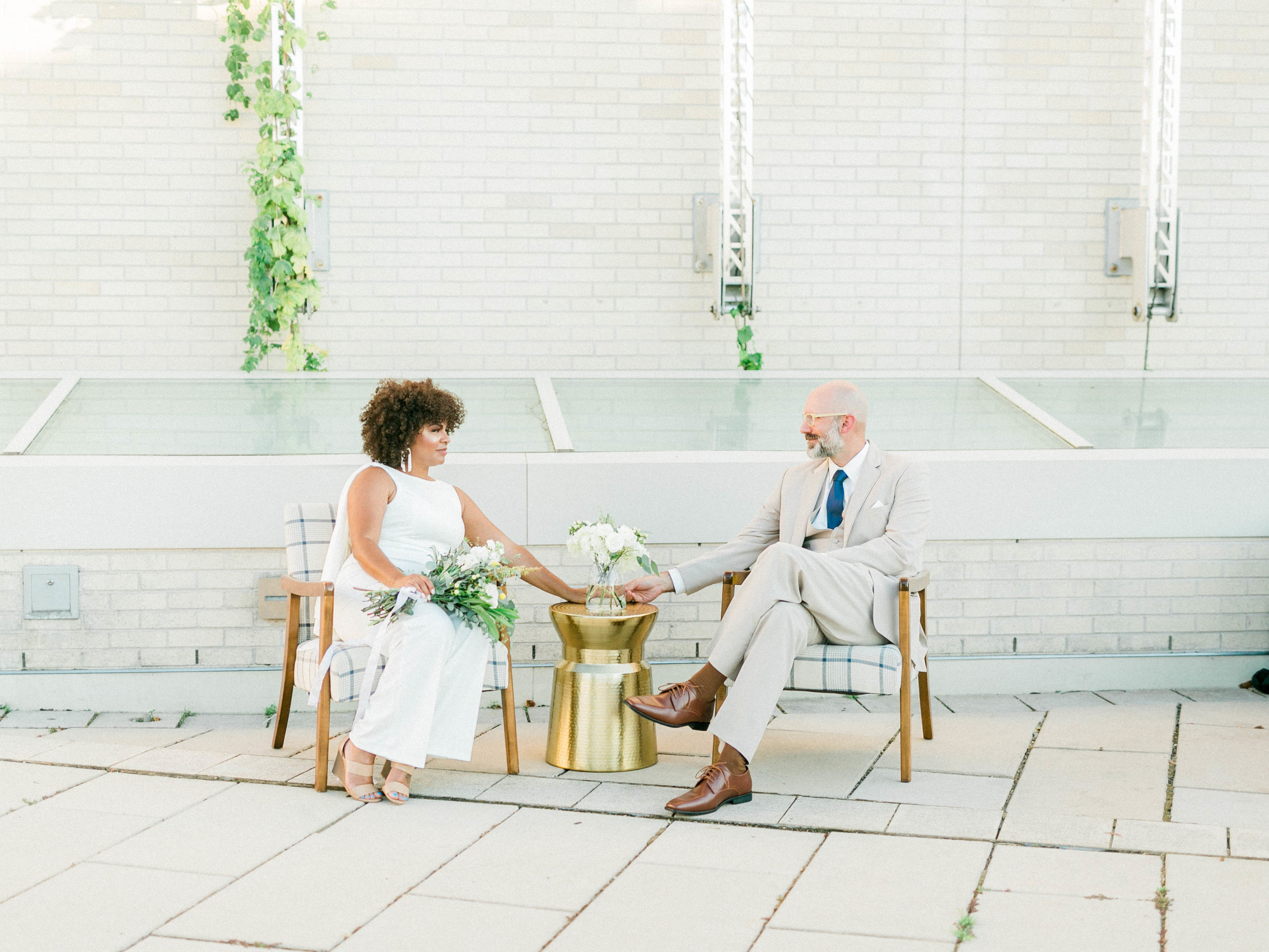 1960s-Contemporary Style Wedding