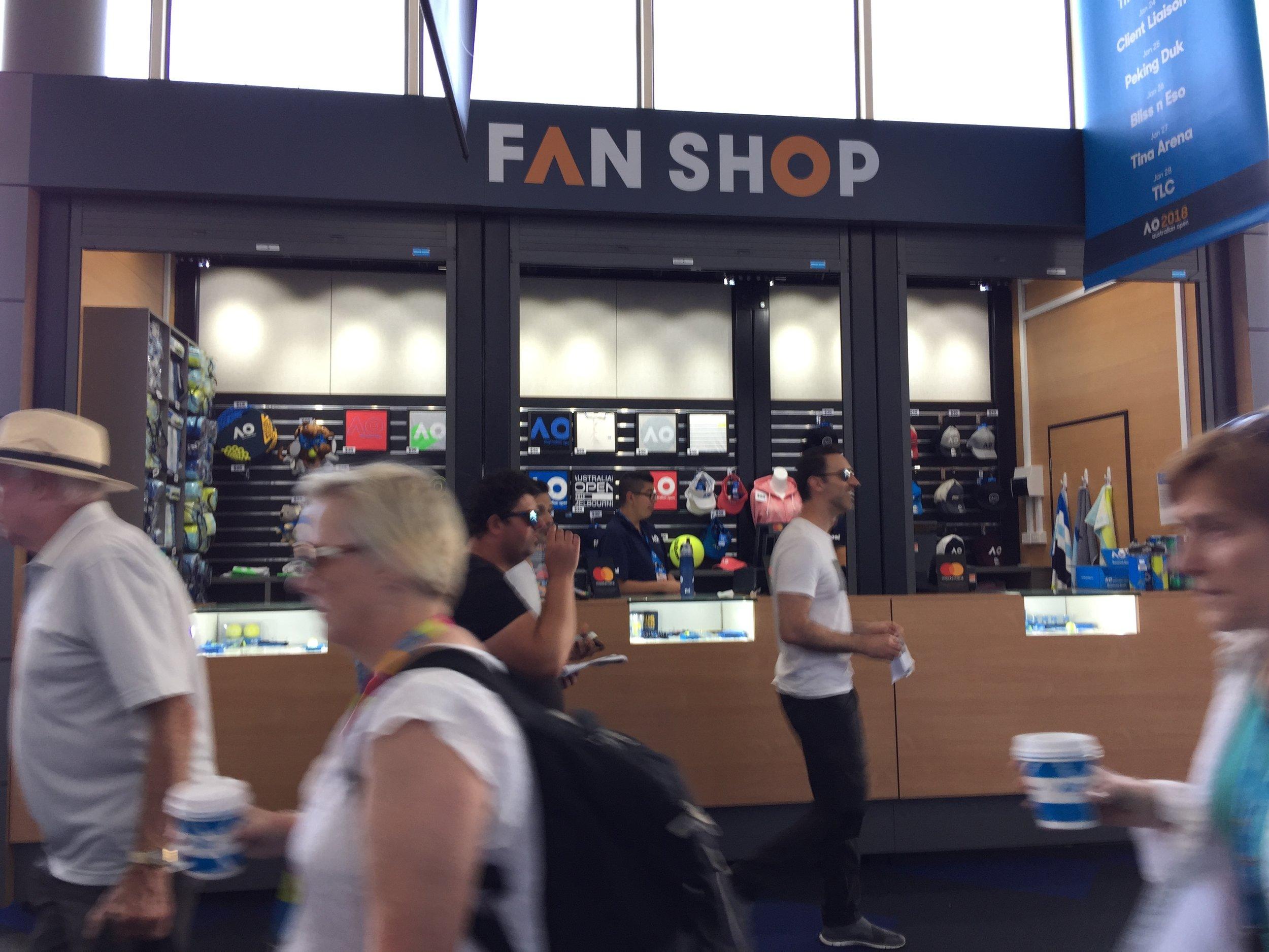 Rod Laver Arena Fanshop