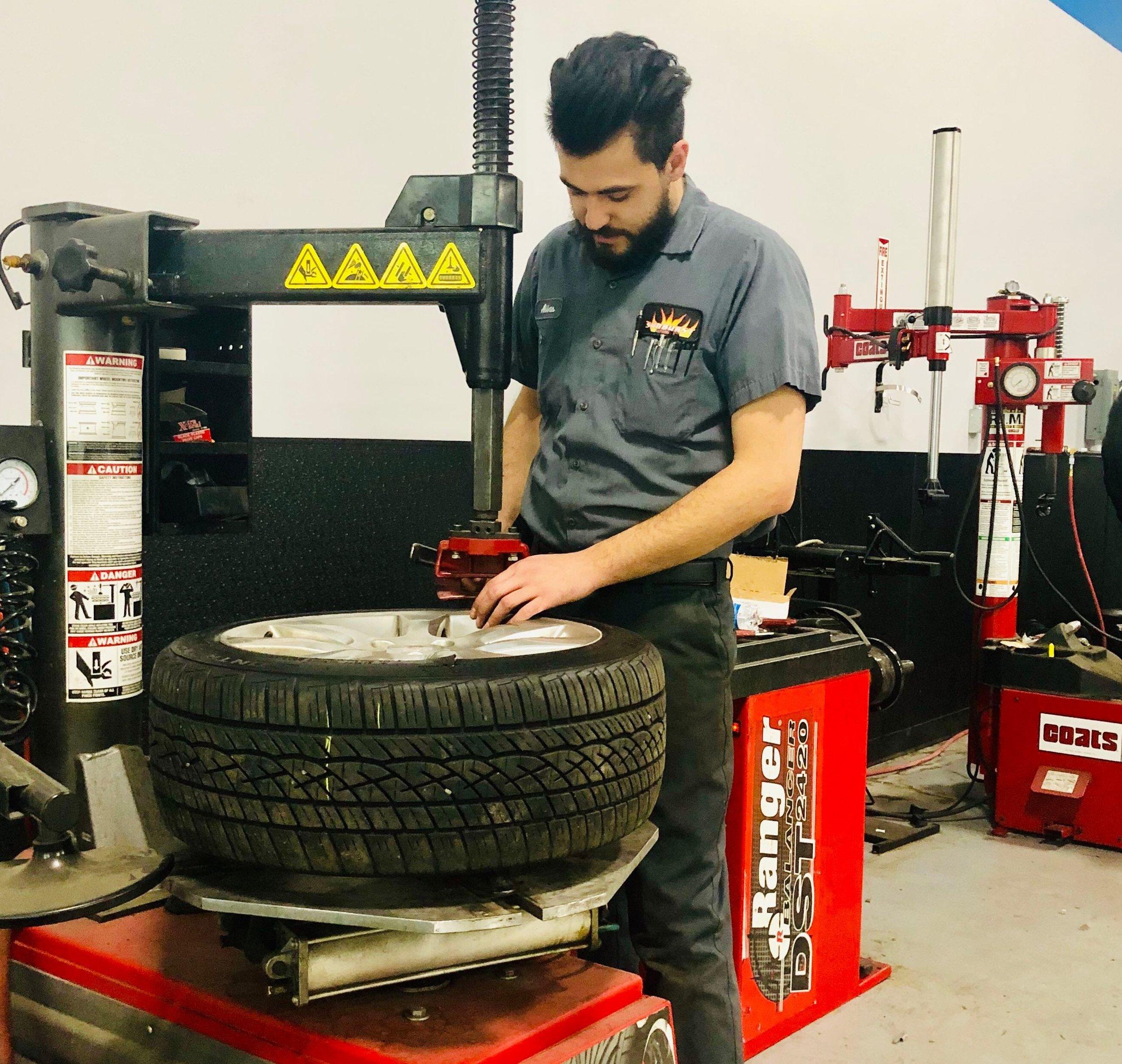 auto SERVICES - Tires & Wheels