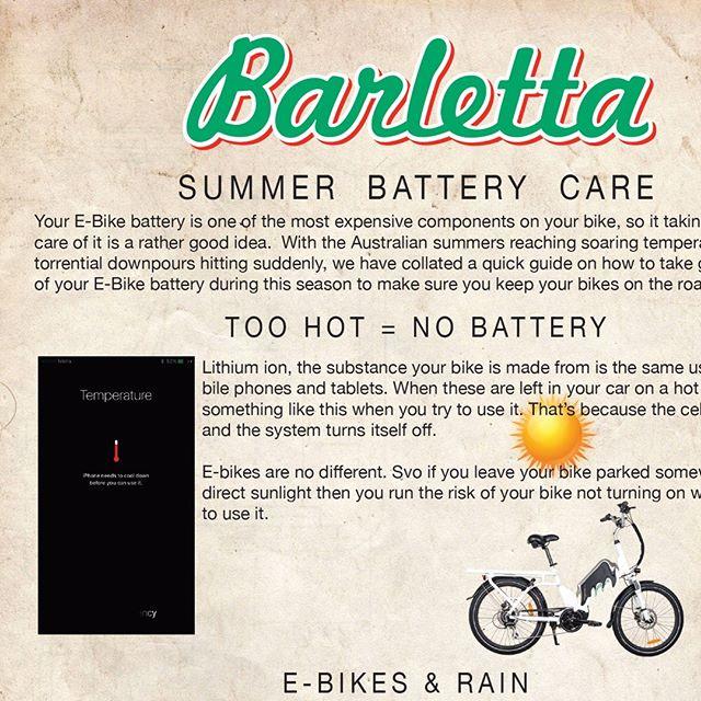 How to care for you E-Bike in Summer #bikemenu #wetbike #blog #bikecatalouge #ebike #ebikes #fatebike #fatbike#electricbike #Deliverybike #touringbike#lifestylebiking #batterypower#resturantbike #fooddelivery #oshi#sumobike #bikecourier #bikemessenger #indicator #bikelights #safety #summer #wetbike #summerride