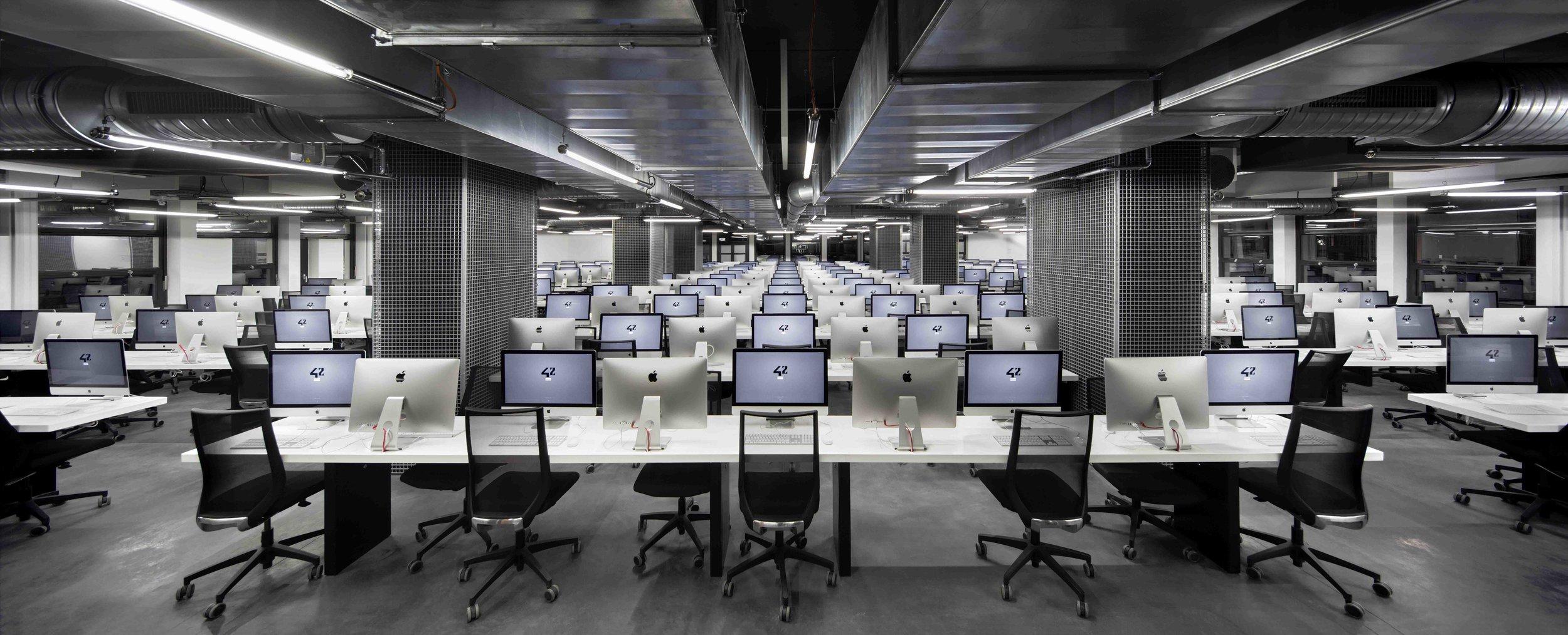 Ecole 42 - NOC 42 - AR Studio Architectures - Xavier NIEL - Kwame YAMGNANE - Florian BUCHER - Nicolas SADIRAC - Free - Reinventer Paris (3).jpg