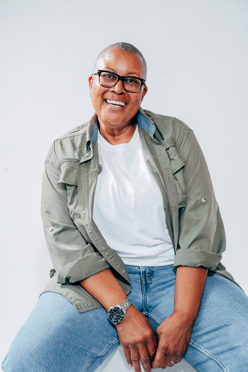 """I moved to Dallas, at almost 60. I FELT invisible. So many of the boomers In THE LGBTQ+ community FEEL invisible. We are the first 'out' generation in the world. we've WORKED our entire liVES to get here & now that we're here we GET pushed aside. IT'S EASY TO FEEL LIKE WE don't matter BUT I refuse to accept that. I AM DOING MY PART TO CHANGE THAT WITH THE SILVER PRIDE PROJECT."" - PORTIA CANTRELL"