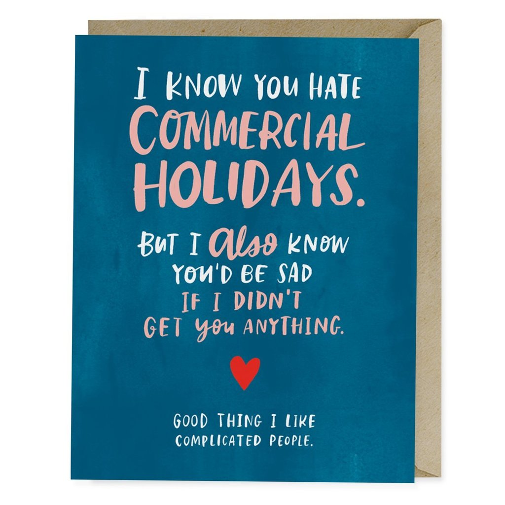 Commercial Holidays Card - $5