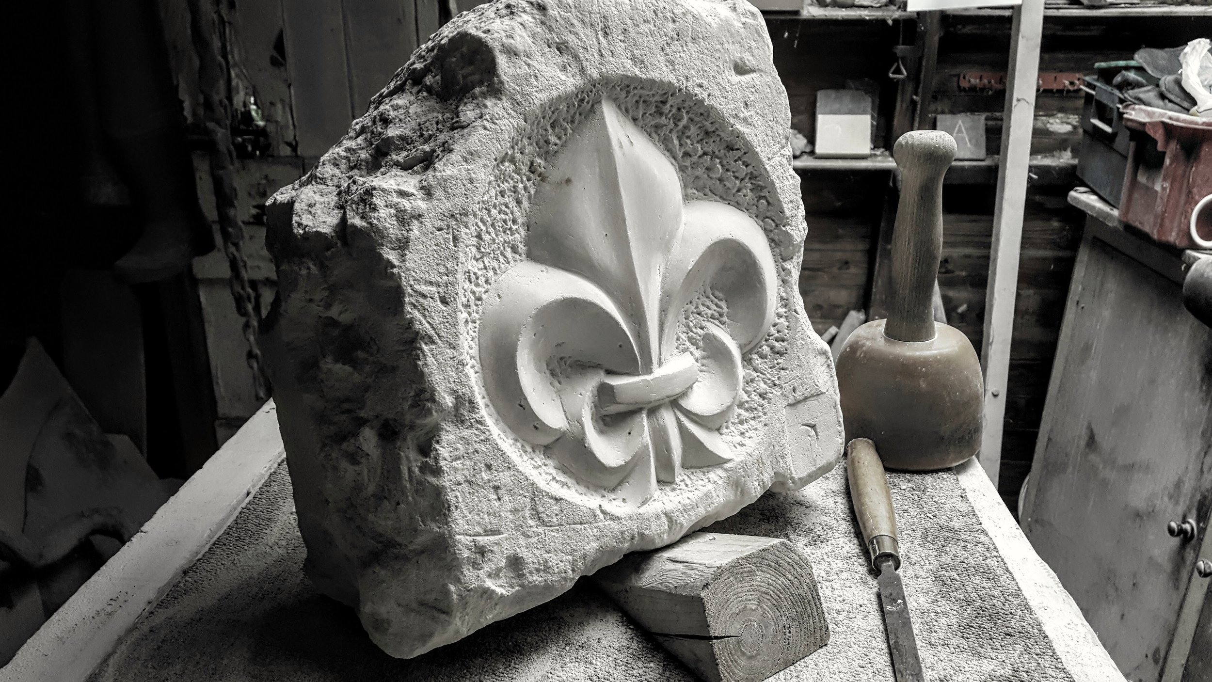 To follow the progress of my latest work,  click here  to visit the Ticket Office Studio & Gallery Facebook page.