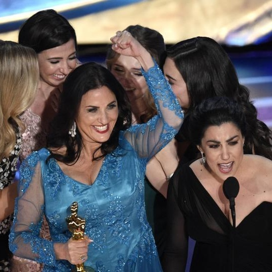 Menstruation Rules: Winning A Bloody Oscar with the Creators of