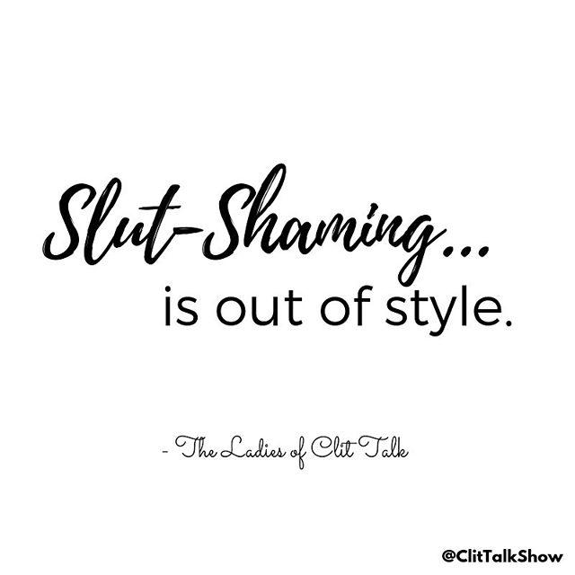 Enough said. ⠀ .⠀ Tag your fellow sexual empowered friends!⠀ .⠀ ⠀ .⠀ .⠀ .⠀ .⠀ #femalepodcast #podcasting #podcasts #femalepodcaster #podcastsforlife #podcastaddict #sexpodcast #slutshaming #equality #feminism #shaming #bodypositive #humansoftheworld #victimblaming #lgbt #sluttygirls #slut #metoo #mybodymychoice #bodypositivity #bodyshaming #sexism #slutsofinstagram #sexpositive #clitalk #clitalkshow