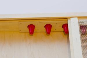 ApiShield's cone entrances prevent pests escaping