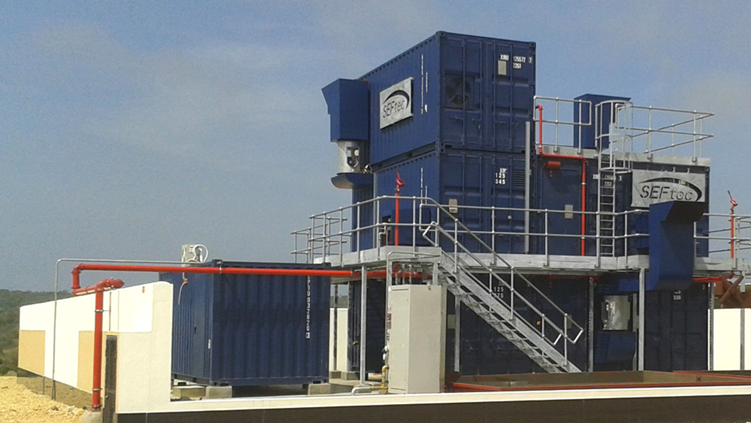 Modular fire training stacks (OPITO/STCW)