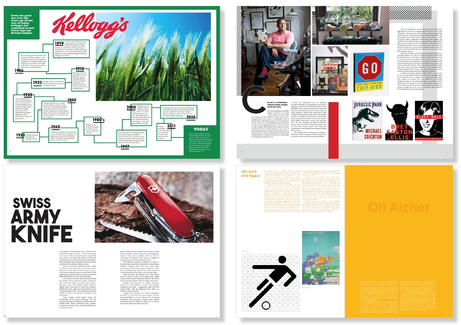 Culture Magazine Pages