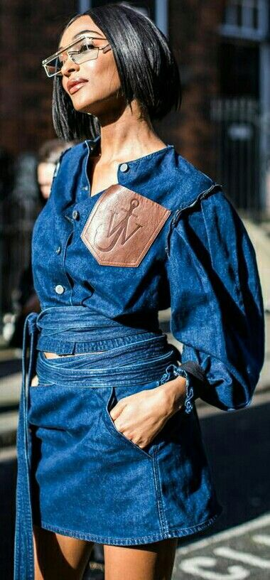 5. Denim Sets - Last but certainly not least, the denim set. If you love denim and want to take your love to the next level, try your hand at rocking an entire denim outfit. Not during the summer though hahah