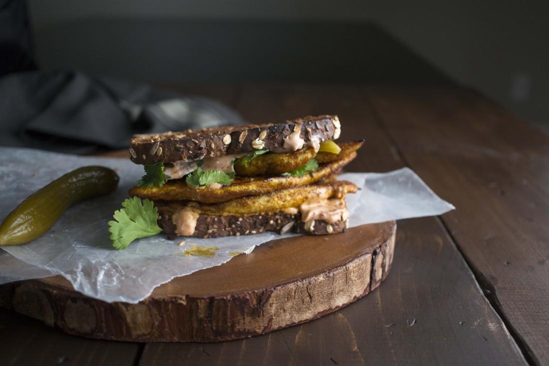 8.Chicken Shawarma Sandwich -