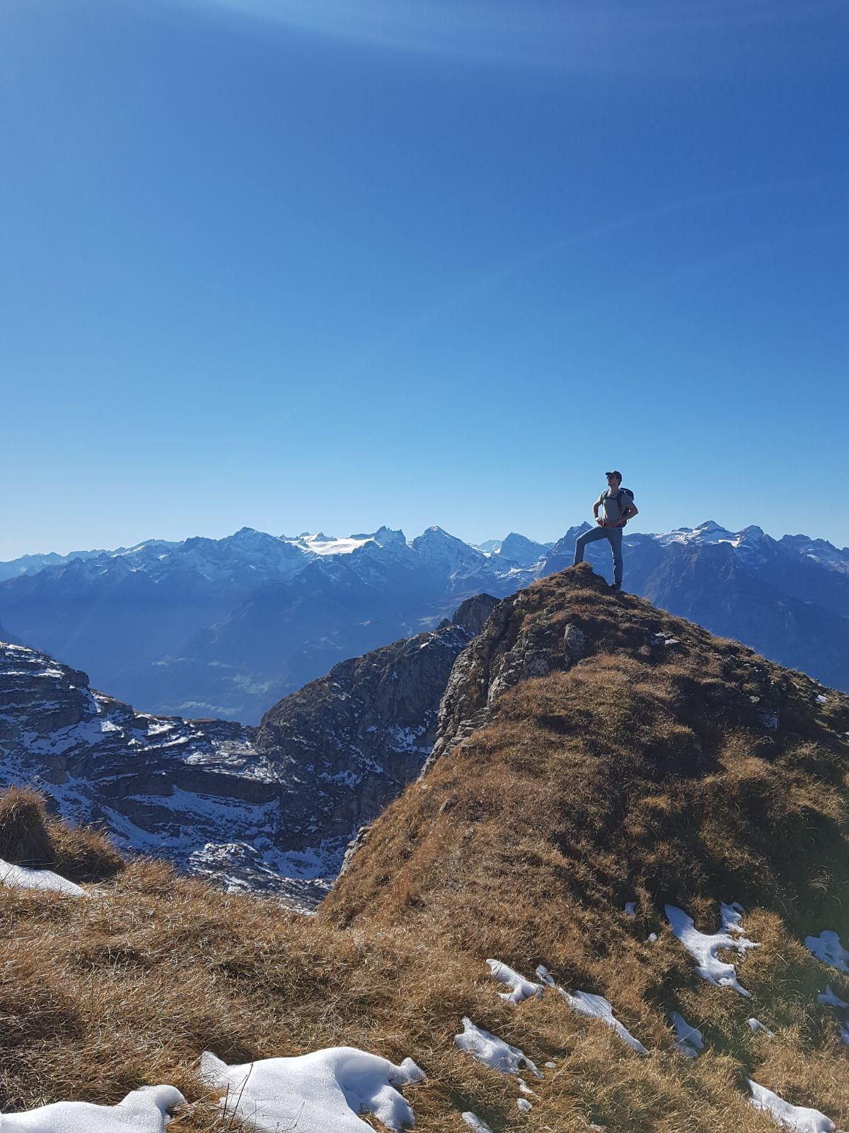 Severin Meier - in den Bergen