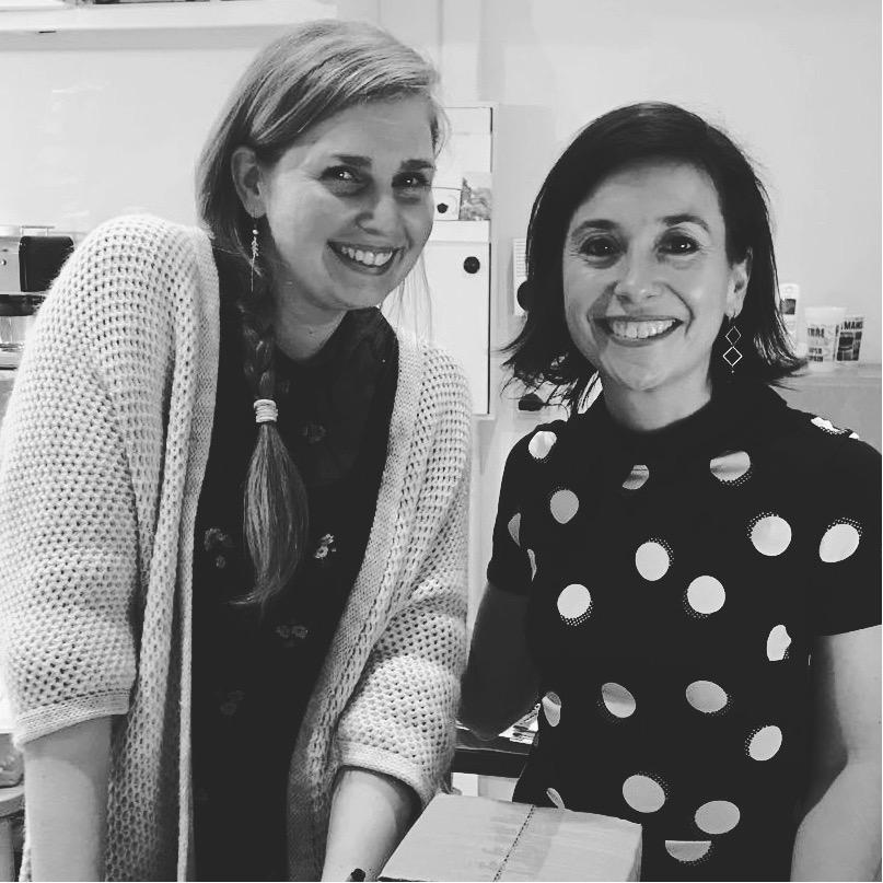 Sarah et Virginie - Dans notre projet d'entreprise, c'est la rencontre qui a fait déclic.