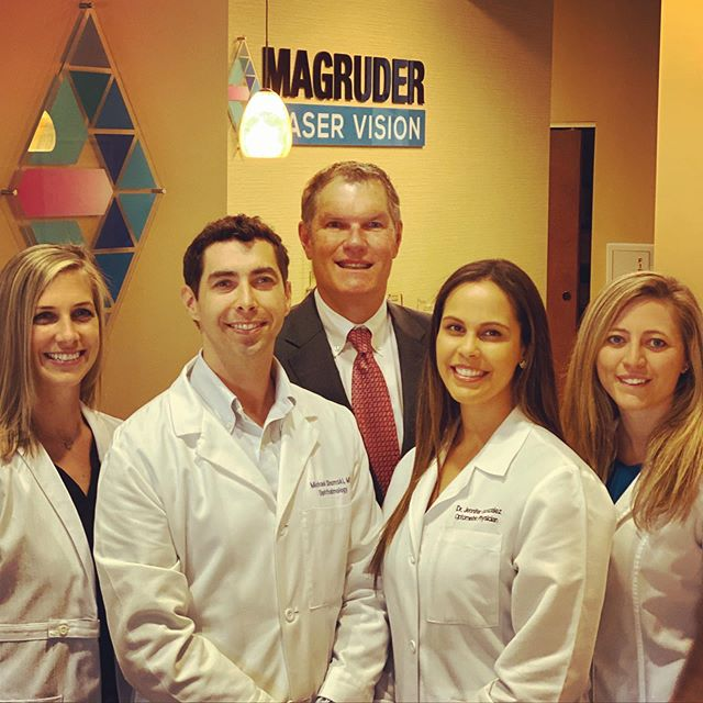 "You're world-class team is waiting to educate you on all there is to offer in vision correction! Come down and ""see"" us!"