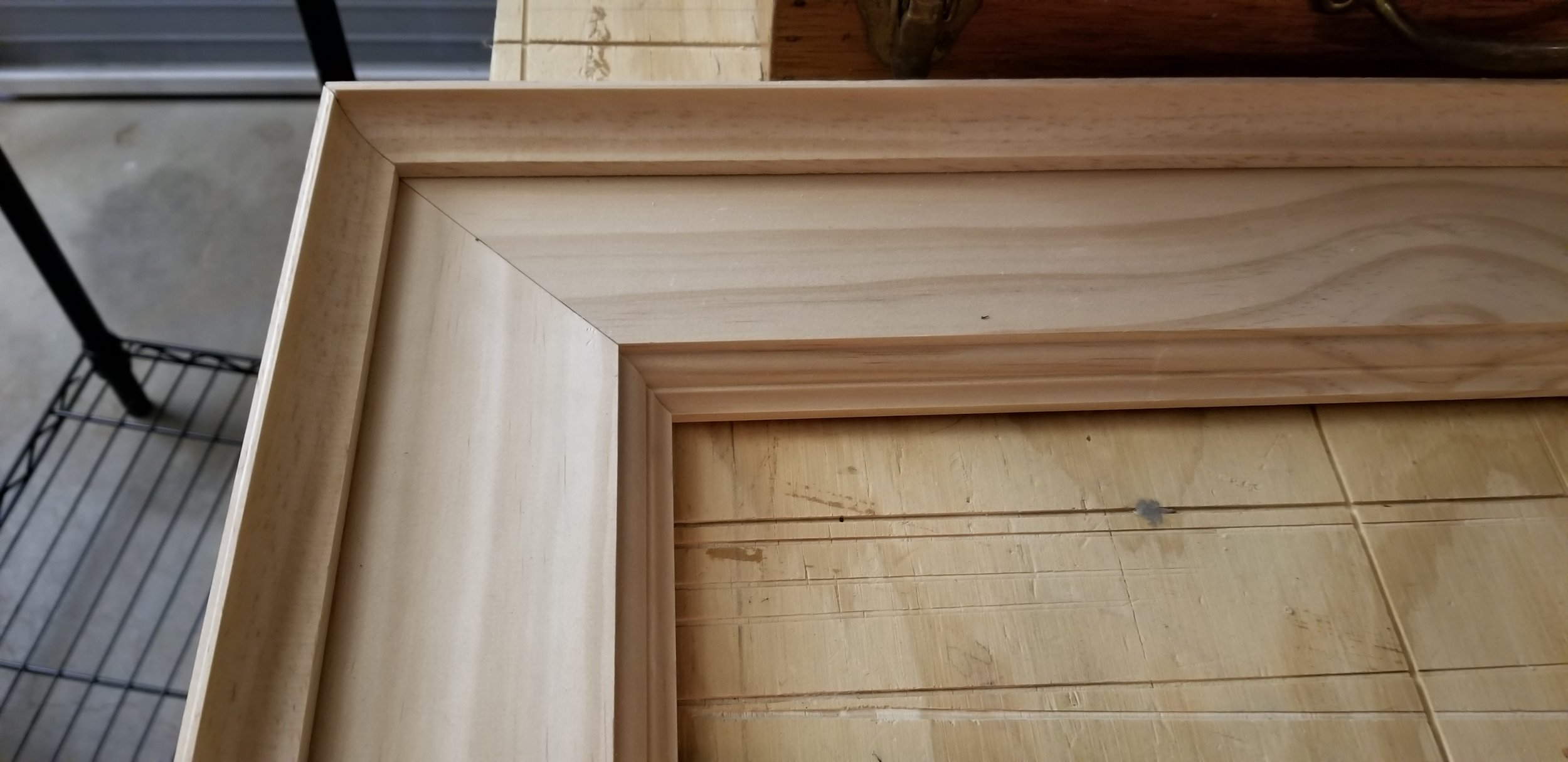 Frame prices vary by project - All of my frames are hand cut and routed.