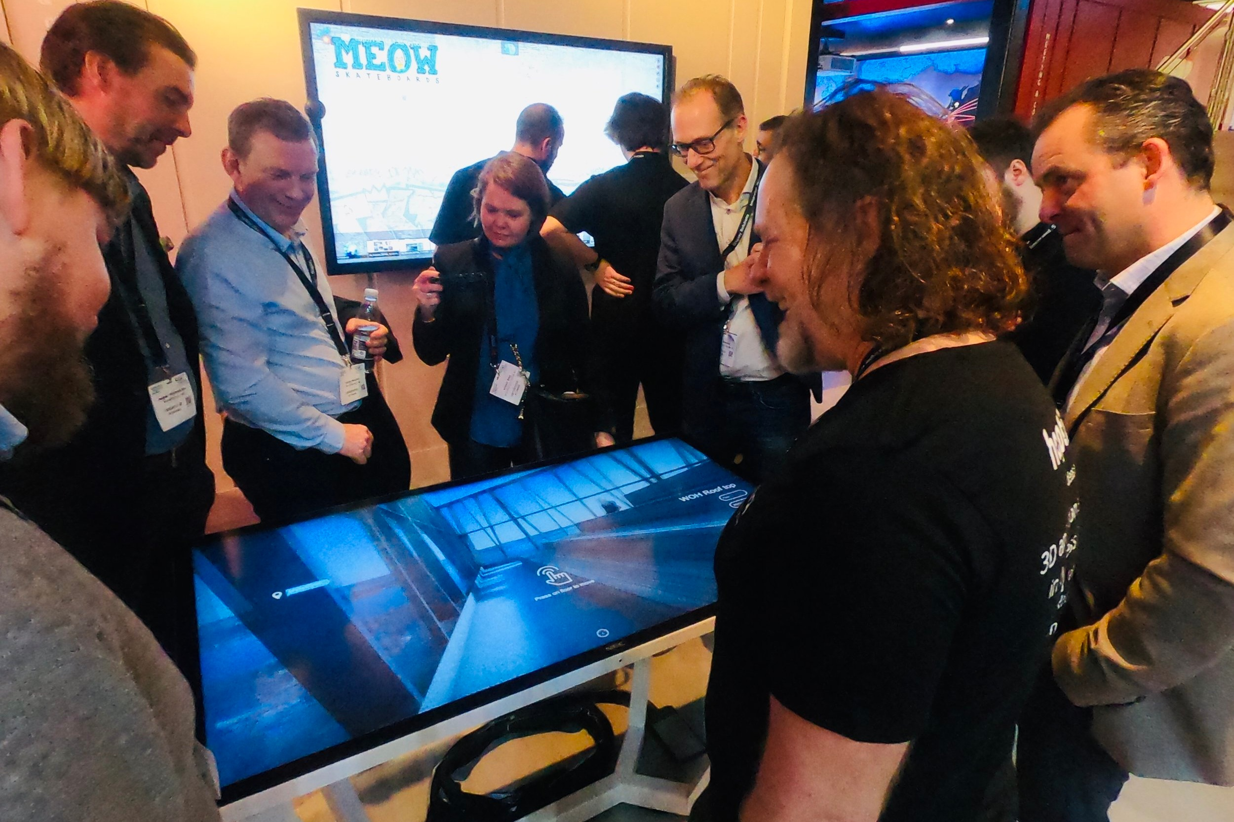 NEC Displays brings Norwegian 3D animation to their touch-screens at ISE 2019 in Amsterdam . Go to story >