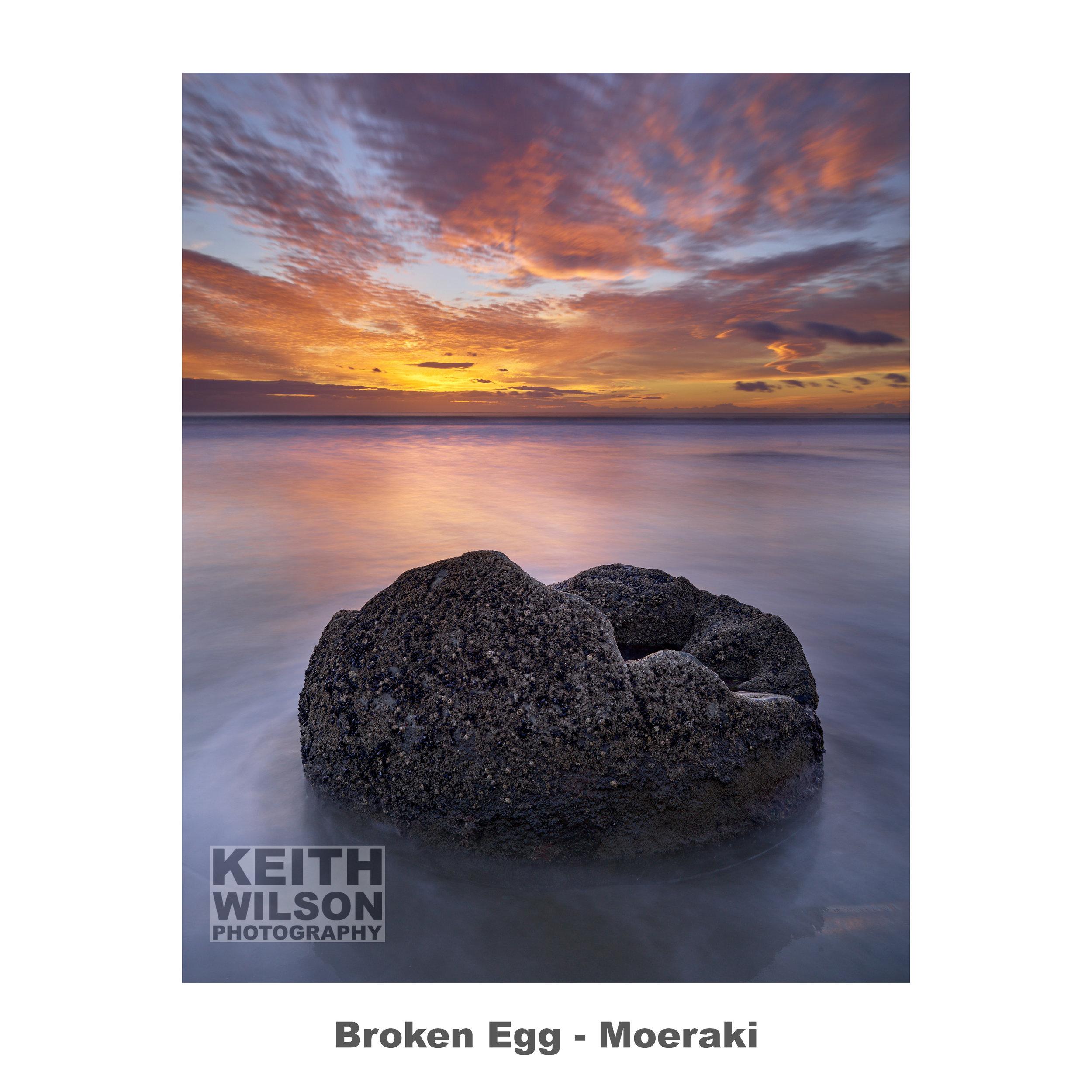 Broken Egg - Moeraki