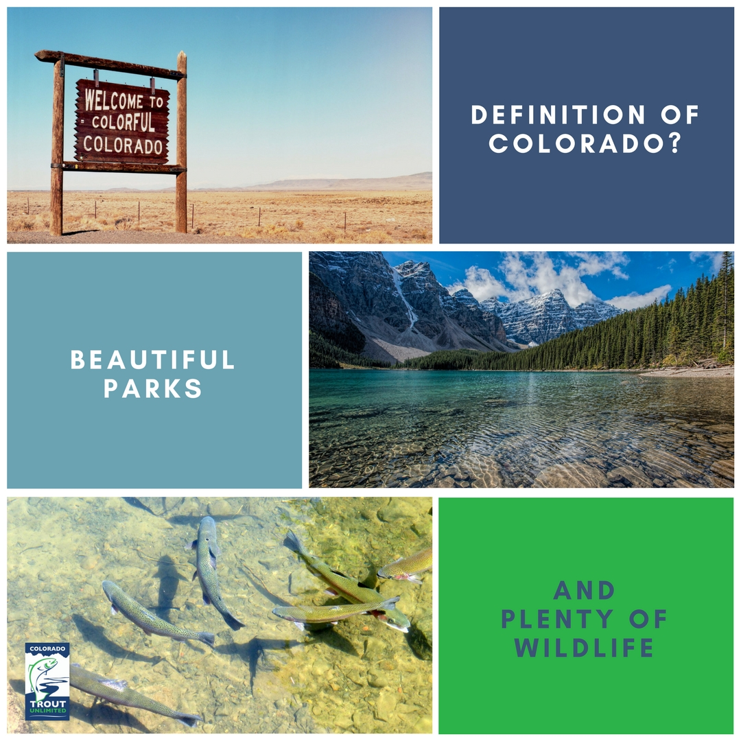79% of Coloradoan sportsmen and women call themselves conservationists. - 2018 State of the Rockies Project