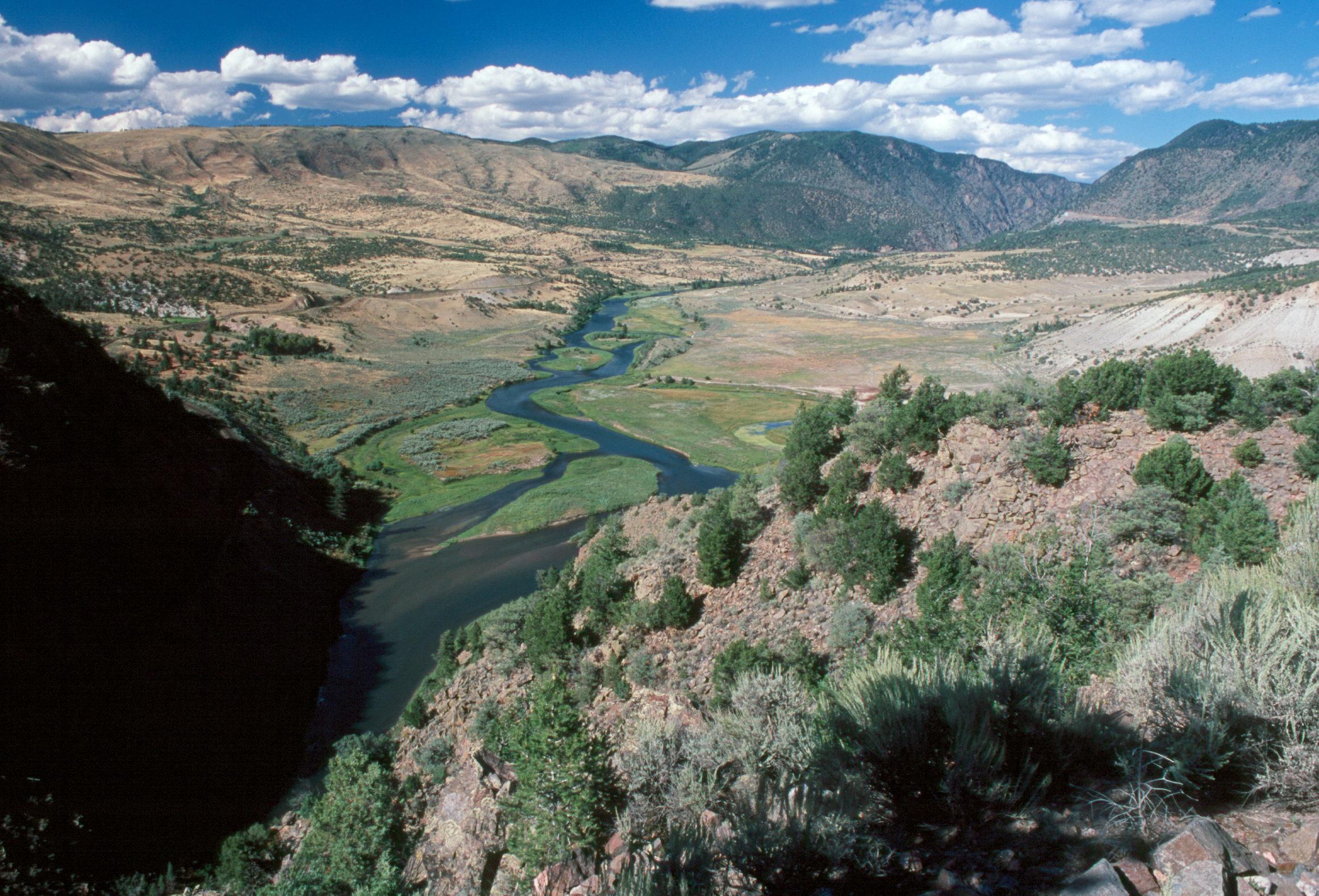 The Colorado River near Pumphouse