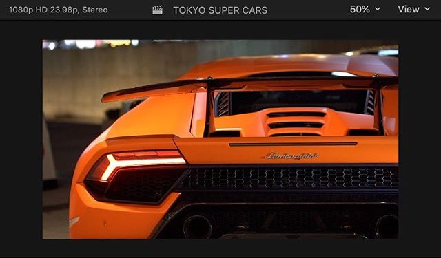 Tonight's shoot with @tokyosupercarskk was dope!  Thank you for having me as your videographer tonight! #japan #techninjaproductions #videographer #photographer #lamborghini #aventador #hurracan