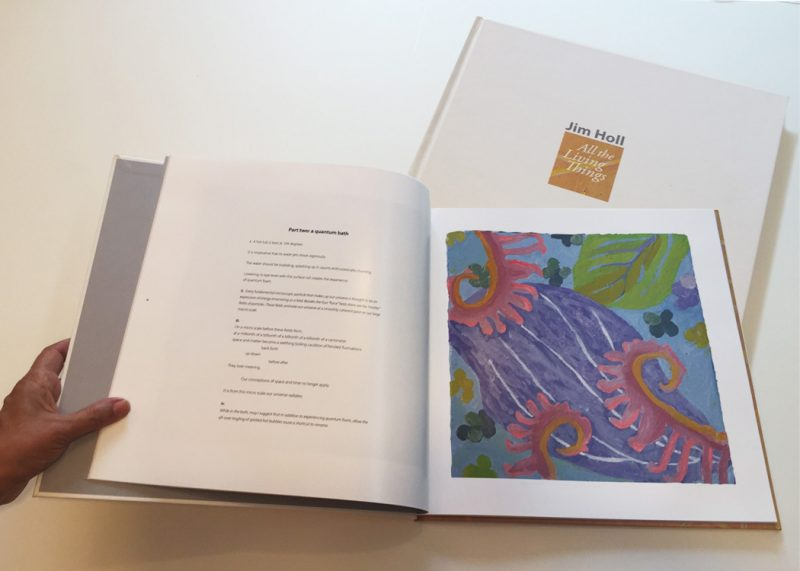 """Jim Holl's """"All the Living Things"""" Published with 'T' Space Editions<br><br><br><br>"""