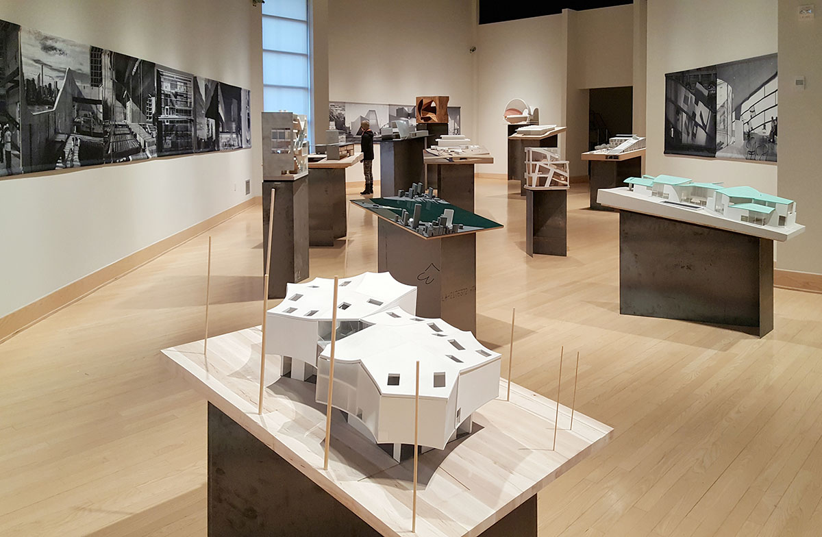 """Steven Holl Architects' Recent Projects Are Exhibited At Dorsky Museum With """"Worth-Seeing"""" Models <br><br><br><br>"""