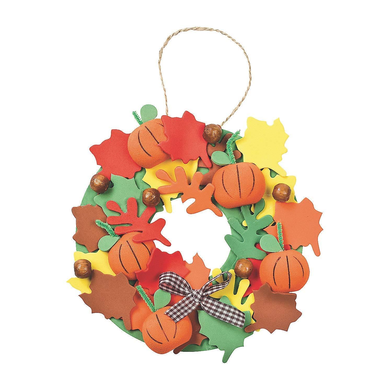 3D Pumpkin Wreath Craft Kit - Crafts for Kids & Decoration Crafts