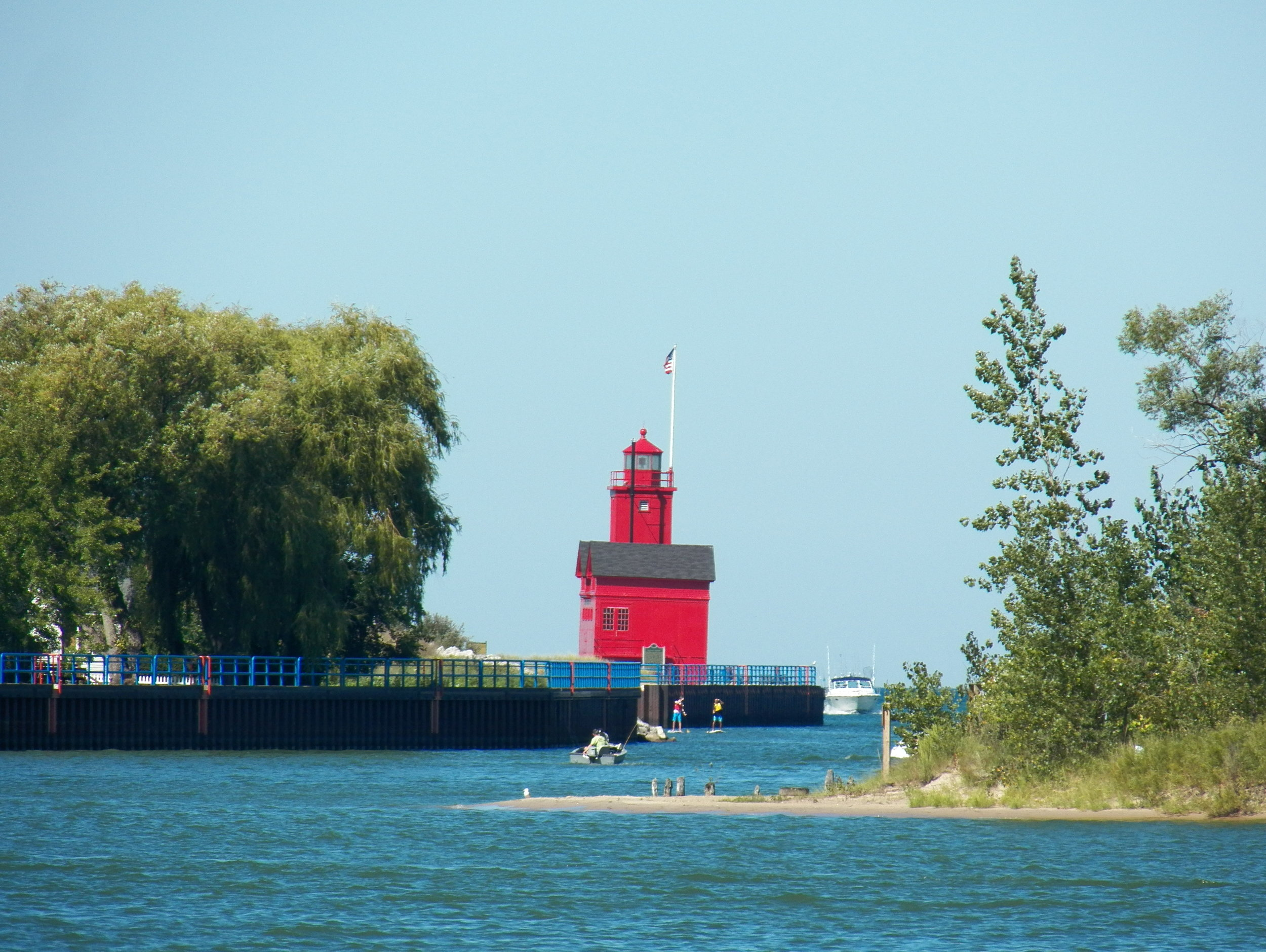 Big Red Lighthouse in Holland, MI