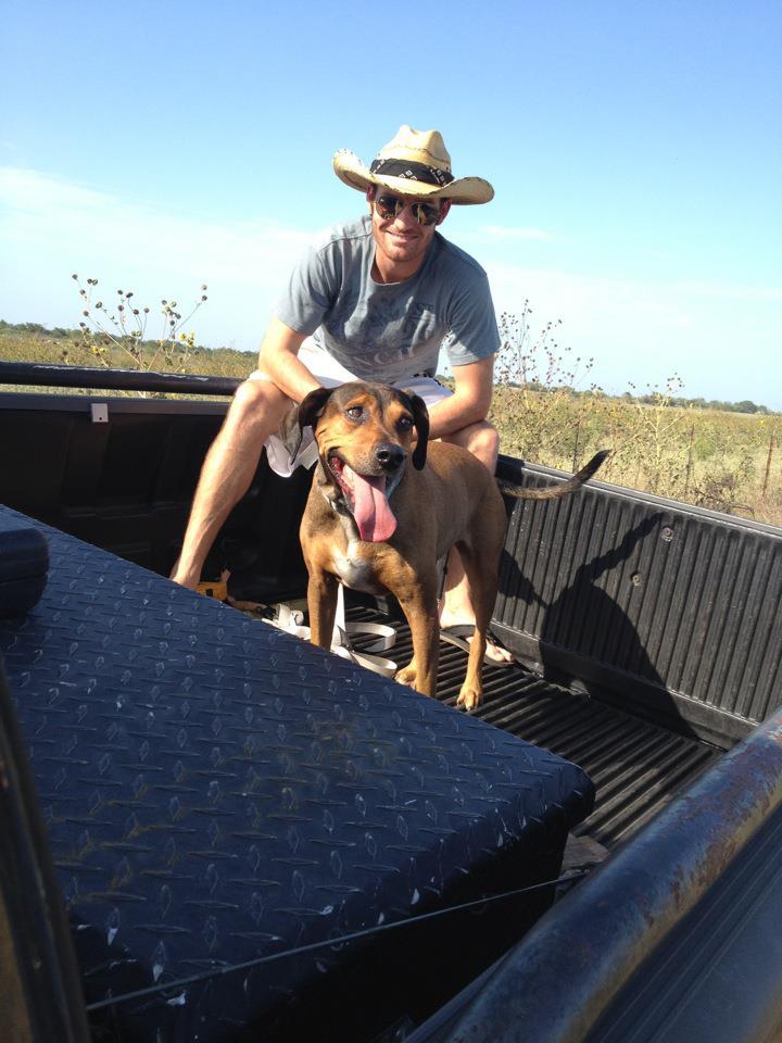 Tim & his beautiful pup!