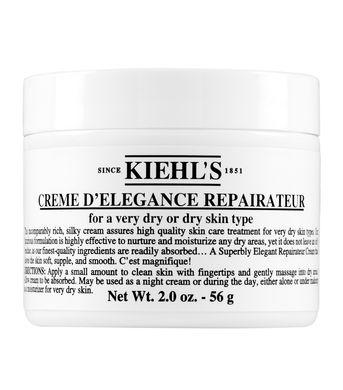 1. Kiehl's Creme D'Elegance Repairateur facial moisturizer