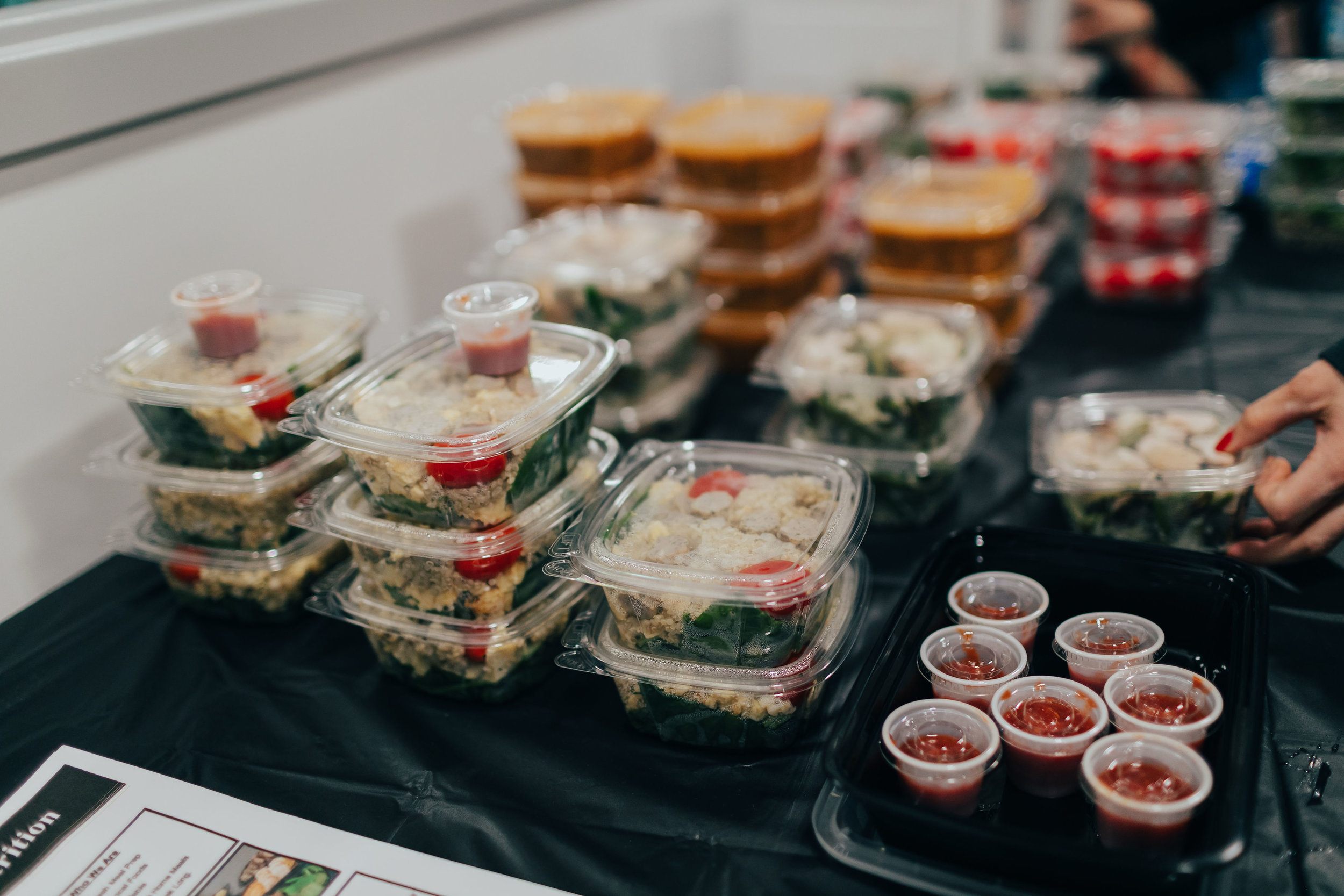 Contact us to learn about our meal preparation service!