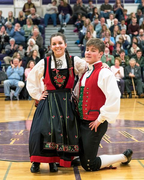Stoughton High School Norwegian Dancers