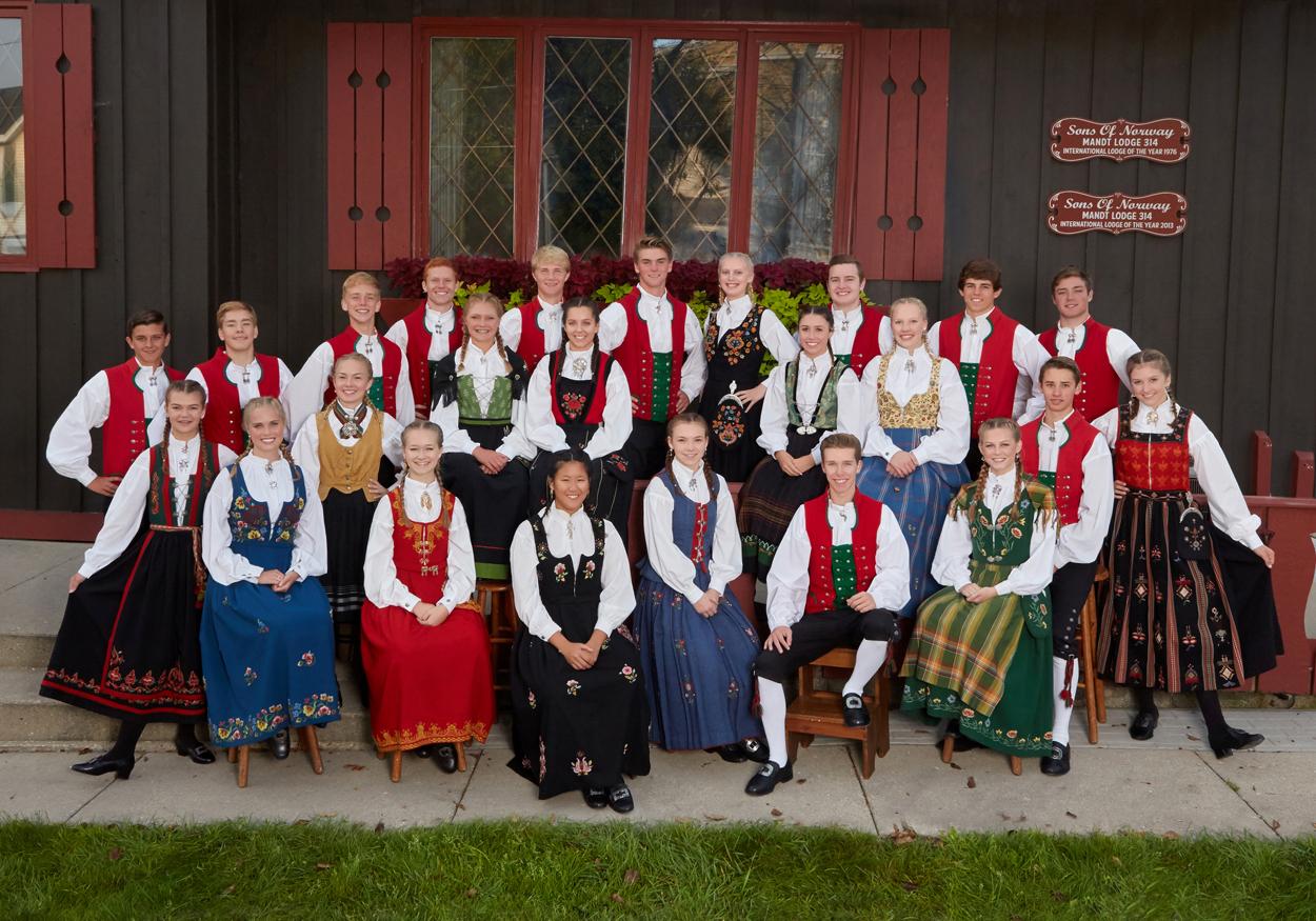 Stoughton Norwegian Dancers 2017- 2018