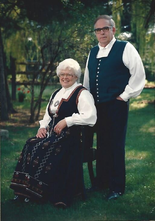 1988 - Fred & Ruth Rushlow
