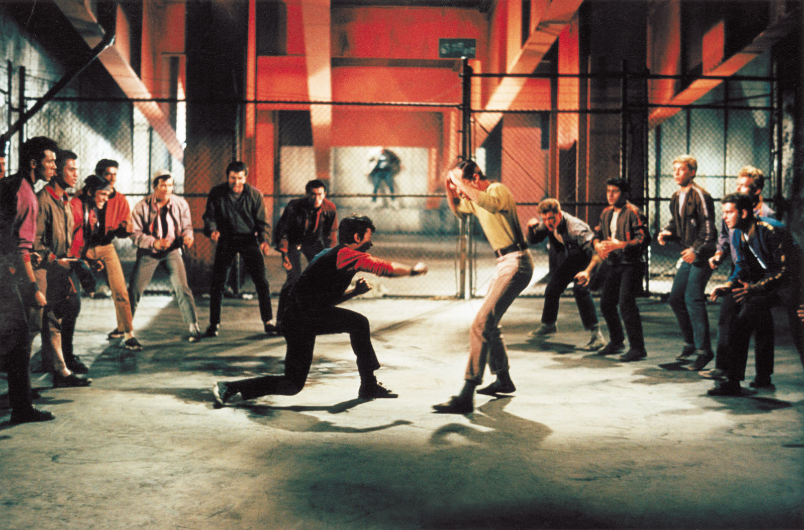 The Rumble from the 1961 film. Courtesy of United Artists.