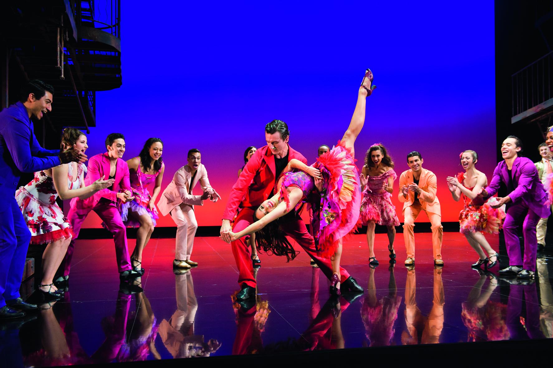 Dance at the Gym. West Side Story, Théâtre du Châtelet; Paris, France. Oct 2012 - Jan 2013. (Photo credit M.S. Théâtre du Chatelet)