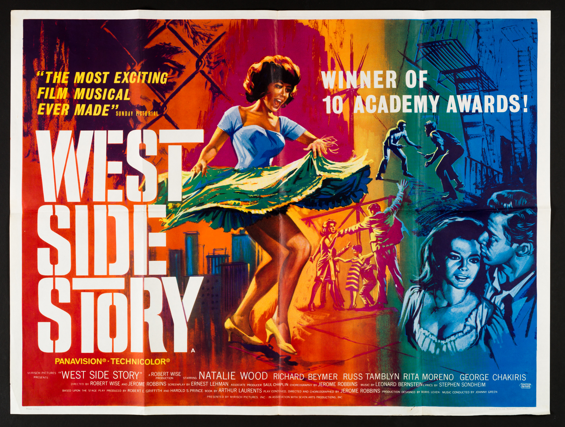 West Side Story  movie poster, 1961.