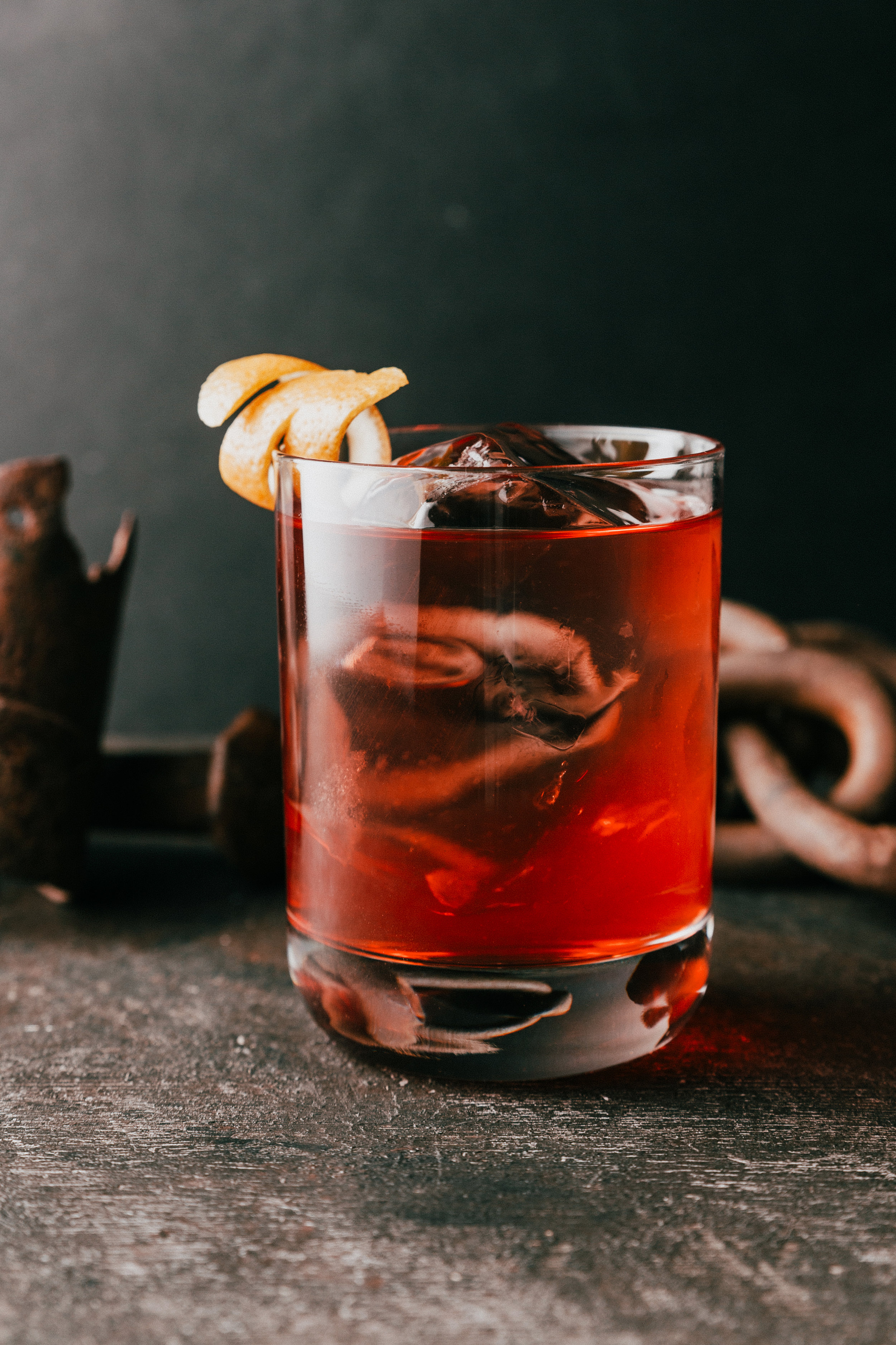 Negroni    1 oz. VIGO Amaro    1 oz. Campari    1 oz. Bluecoat American Dry Gin    Measure all the ingredients listed above into a mixing glass    Stir and serve on the rocks    Garnish with an orange twist