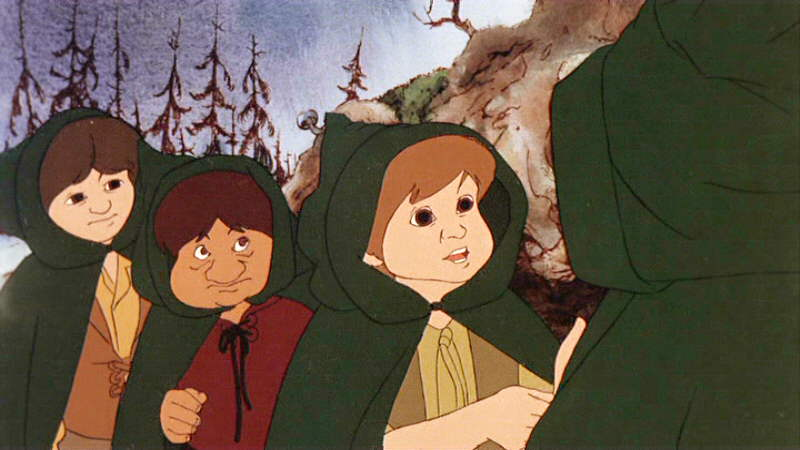 © 1978. Lord of the Rings, directed by Ralph Bakshi.