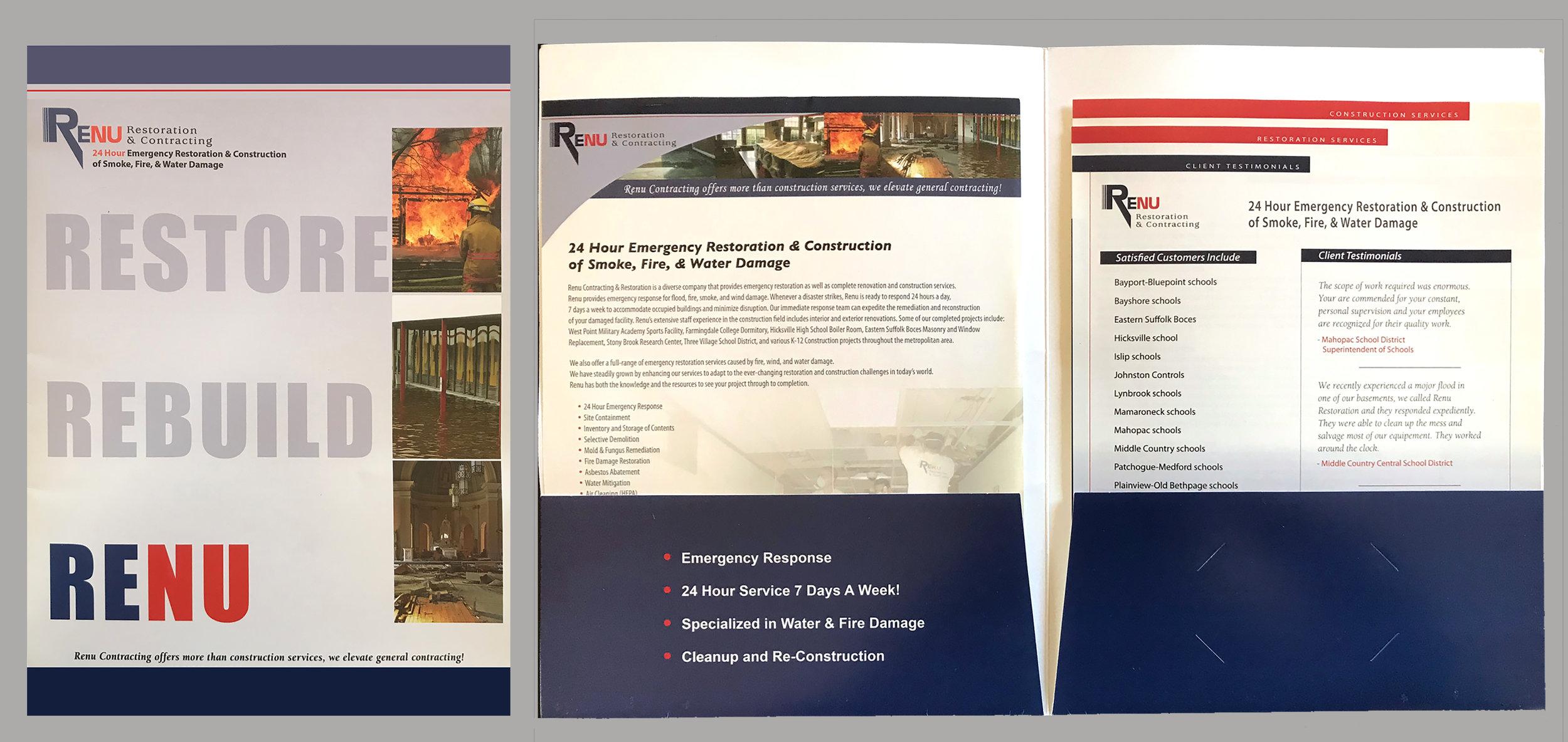 RENU Company folder