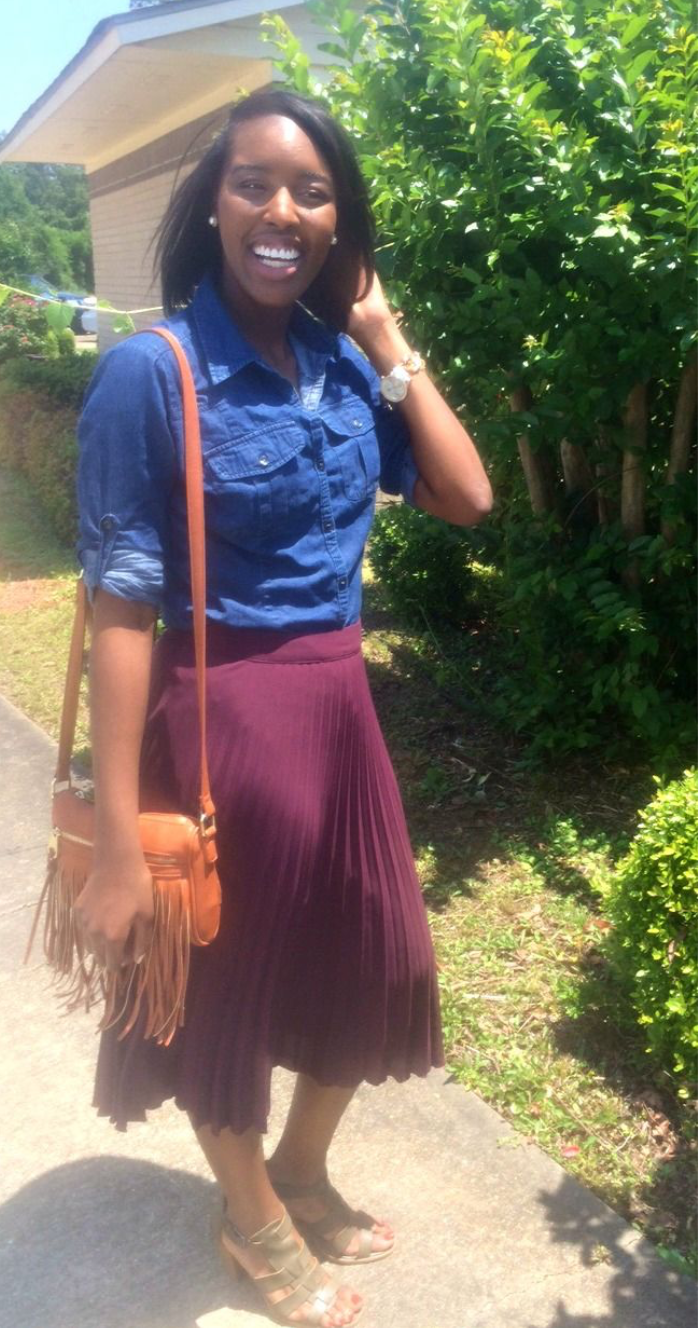 How to Style a Pleated Skirt or any Difficult Piece | Style by Toyin