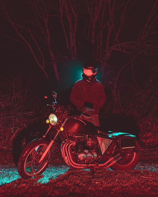 Kody as the Space Rider.