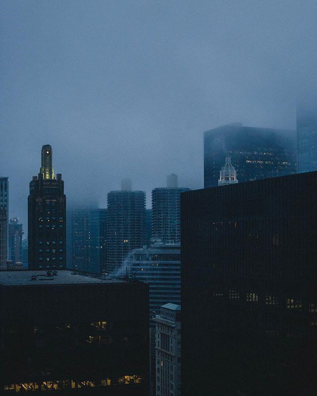 Chicago sometimes looks like Gotham.