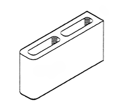 4 Inch Double Bullnose